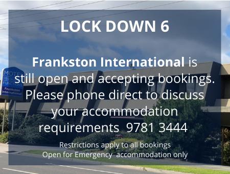 LOCK DOWN 6 accommodation