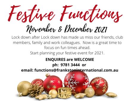 Festive Functions